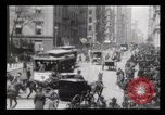 Image of Lower Broadway New York City USA, 1903, second 20 stock footage video 65675040615