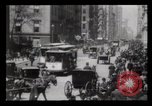 Image of Lower Broadway New York City USA, 1903, second 22 stock footage video 65675040615