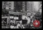 Image of Lower Broadway New York City USA, 1903, second 23 stock footage video 65675040615