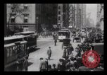 Image of Lower Broadway New York City USA, 1903, second 32 stock footage video 65675040615