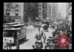 Image of Lower Broadway New York City USA, 1903, second 35 stock footage video 65675040615