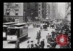 Image of Lower Broadway New York City USA, 1903, second 36 stock footage video 65675040615