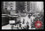Image of Lower Broadway New York City USA, 1903, second 38 stock footage video 65675040615