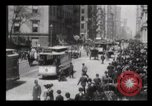 Image of Lower Broadway New York City USA, 1903, second 40 stock footage video 65675040615