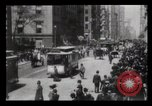 Image of Lower Broadway New York City USA, 1903, second 41 stock footage video 65675040615