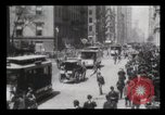 Image of Lower Broadway New York City USA, 1903, second 50 stock footage video 65675040615