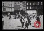 Image of Delivering newspapers New York City USA, 1903, second 15 stock footage video 65675040619