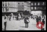 Image of Delivering newspapers New York City USA, 1903, second 16 stock footage video 65675040619