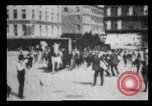 Image of Delivering newspapers New York City USA, 1903, second 18 stock footage video 65675040619
