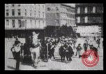 Image of Delivering newspapers New York City USA, 1903, second 21 stock footage video 65675040619