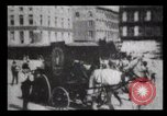 Image of Delivering newspapers New York City USA, 1903, second 23 stock footage video 65675040619