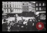 Image of Delivering newspapers New York City USA, 1903, second 34 stock footage video 65675040619