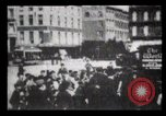 Image of Delivering newspapers New York City USA, 1903, second 36 stock footage video 65675040619