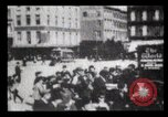 Image of Delivering newspapers New York City USA, 1903, second 42 stock footage video 65675040619