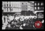 Image of Delivering newspapers New York City USA, 1903, second 43 stock footage video 65675040619