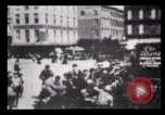 Image of Delivering newspapers New York City USA, 1903, second 45 stock footage video 65675040619