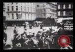 Image of Delivering newspapers New York City USA, 1903, second 49 stock footage video 65675040619