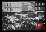 Image of Delivering newspapers New York City USA, 1903, second 58 stock footage video 65675040619
