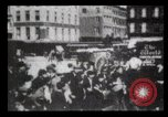 Image of Delivering newspapers New York City USA, 1903, second 59 stock footage video 65675040619