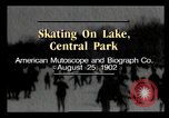 Image of Central Park New York City USA, 1902, second 2 stock footage video 65675040623