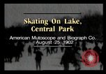 Image of Central Park New York City USA, 1902, second 3 stock footage video 65675040623