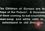 Image of Feeding children in Dresden Germany Germany, 1920, second 2 stock footage video 65675040648