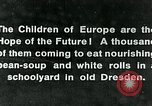 Image of Feeding children in Dresden Germany Germany, 1920, second 3 stock footage video 65675040648