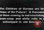 Image of Feeding children in Dresden Germany Germany, 1920, second 11 stock footage video 65675040648