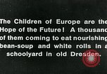 Image of Feeding children in Dresden Germany Germany, 1920, second 13 stock footage video 65675040648