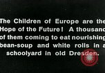 Image of Feeding children in Dresden Germany Germany, 1920, second 14 stock footage video 65675040648