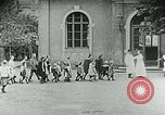 Image of Feeding children in Dresden Germany Germany, 1920, second 20 stock footage video 65675040648