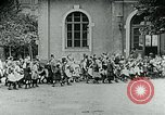 Image of Feeding children in Dresden Germany Germany, 1920, second 33 stock footage video 65675040648
