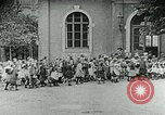 Image of Feeding children in Dresden Germany Germany, 1920, second 35 stock footage video 65675040648