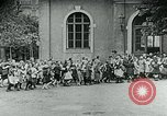 Image of Feeding children in Dresden Germany Germany, 1920, second 38 stock footage video 65675040648