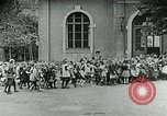 Image of Feeding children in Dresden Germany Germany, 1920, second 44 stock footage video 65675040648