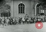 Image of Feeding children in Dresden Germany Germany, 1920, second 45 stock footage video 65675040648