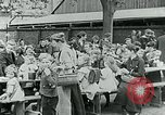 Image of Feeding children in Dresden Germany Germany, 1920, second 52 stock footage video 65675040648
