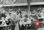 Image of Feeding children in Dresden Germany Germany, 1920, second 53 stock footage video 65675040648