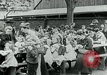Image of Feeding children in Dresden Germany Germany, 1920, second 55 stock footage video 65675040648