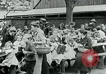 Image of Feeding children in Dresden Germany Germany, 1920, second 57 stock footage video 65675040648