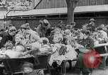 Image of Feeding children in Dresden Germany Germany, 1920, second 58 stock footage video 65675040648