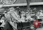 Image of Feeding children in Dresden Germany Germany, 1920, second 59 stock footage video 65675040648