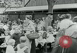 Image of Feeding children in Dresden Germany Germany, 1920, second 61 stock footage video 65675040648