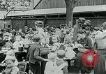 Image of Feeding children in Dresden Germany Germany, 1920, second 62 stock footage video 65675040648