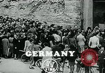 Image of long queues Germany, 1947, second 6 stock footage video 65675040650