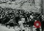 Image of long queues Germany, 1947, second 8 stock footage video 65675040650