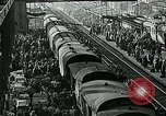 Image of long queues Germany, 1947, second 41 stock footage video 65675040650