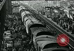 Image of long queues Germany, 1947, second 42 stock footage video 65675040650