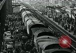 Image of long queues Germany, 1947, second 43 stock footage video 65675040650