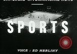 Image of hockey match New York United States USA, 1947, second 2 stock footage video 65675040657
